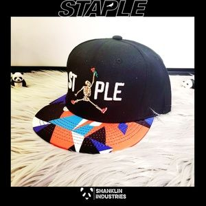 Staple Rose Til Death Snapback